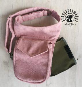 oldaltáska - rózsaszín